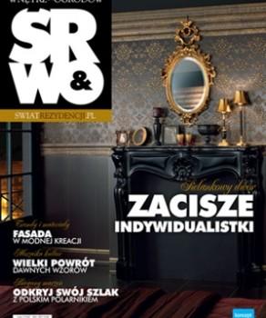 """SCENA CZASU – """"ŚWIAT REZYDENCJI WNĘTRZ & OGRODÓW"""" 3 (15)/2010"""