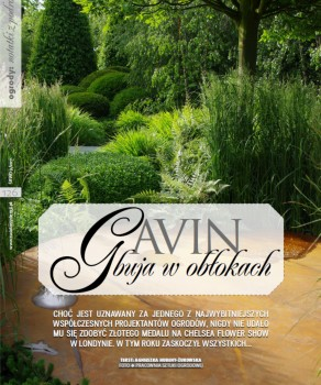 """GAVIN BUJA W OBŁOKACH – """"ŚWIAT REZYDENCJI, WNĘTRZ & OGRODÓW"""" 9(25)/ 2011"""