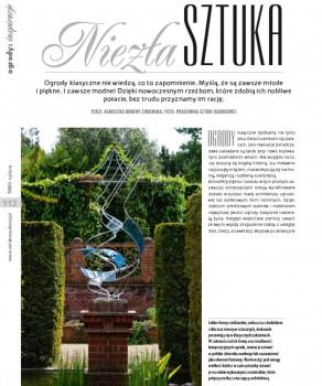 """NIEZŁA SZTUKA """"ŚWIAT REZYDENCJI, WNĘTRZ & OGRODÓW"""" 10(36)/ 2012"""