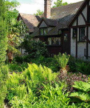 Egzotyczny ogród w Wielkiej Brytanii