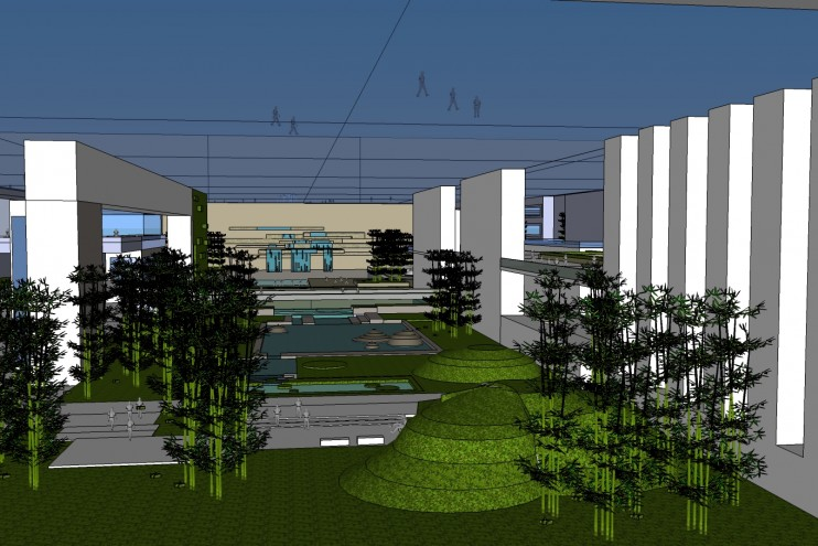Tiananmen Square Landscape Architecture Competition II nagroda 1
