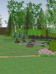 Ogród dla architekta