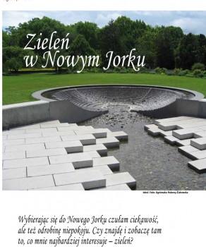 ZIELEŃ W NOWYM JORKU – EUROSTYL 09/2010, WYD. AN-PRESS