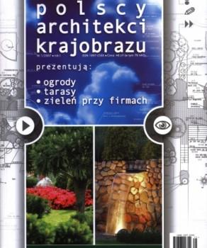 """PREZENTACJA ARCHITEKTÓW KRAJOBRAZU – """"OGRODOWA GALERIA DESIGN & SHOPPING"""" 1.2010"""