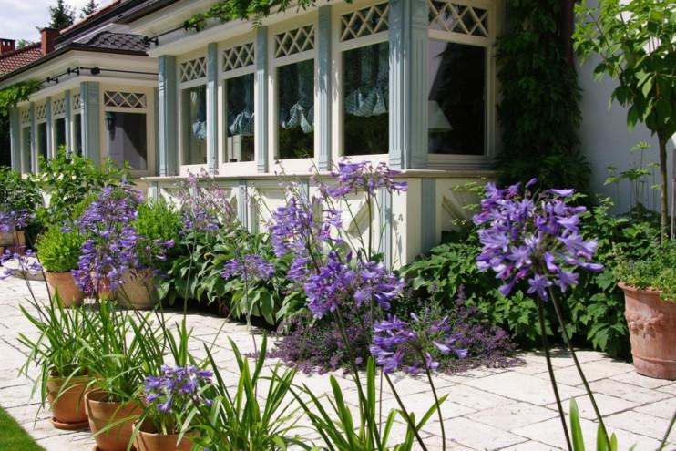 Ogród bardzo romantyczny 1