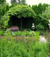 Ogród bardzo romantyczny 9