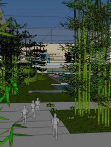 Tiananmen Square Landscape Architecture Competition II nagroda