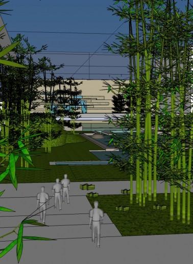 Tiananmen Square Landscape Architecture Competition II nagroda 2